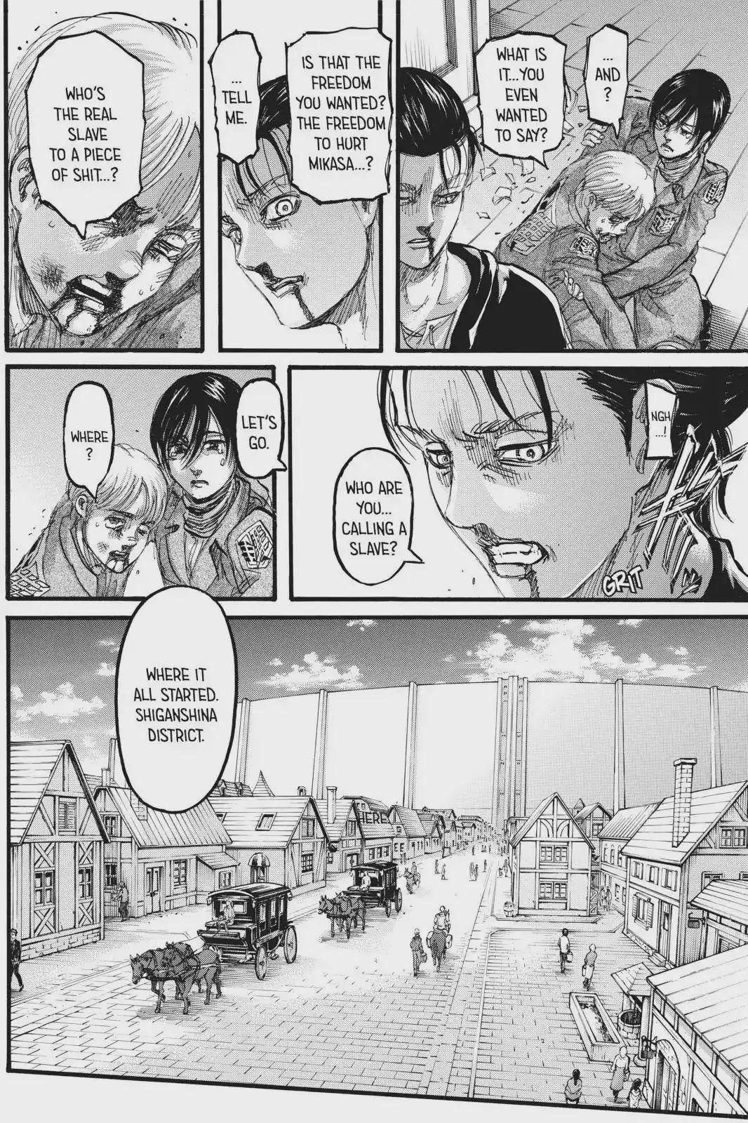 Attack on Titan Chapter 112: Ignorance Hajime Isayama