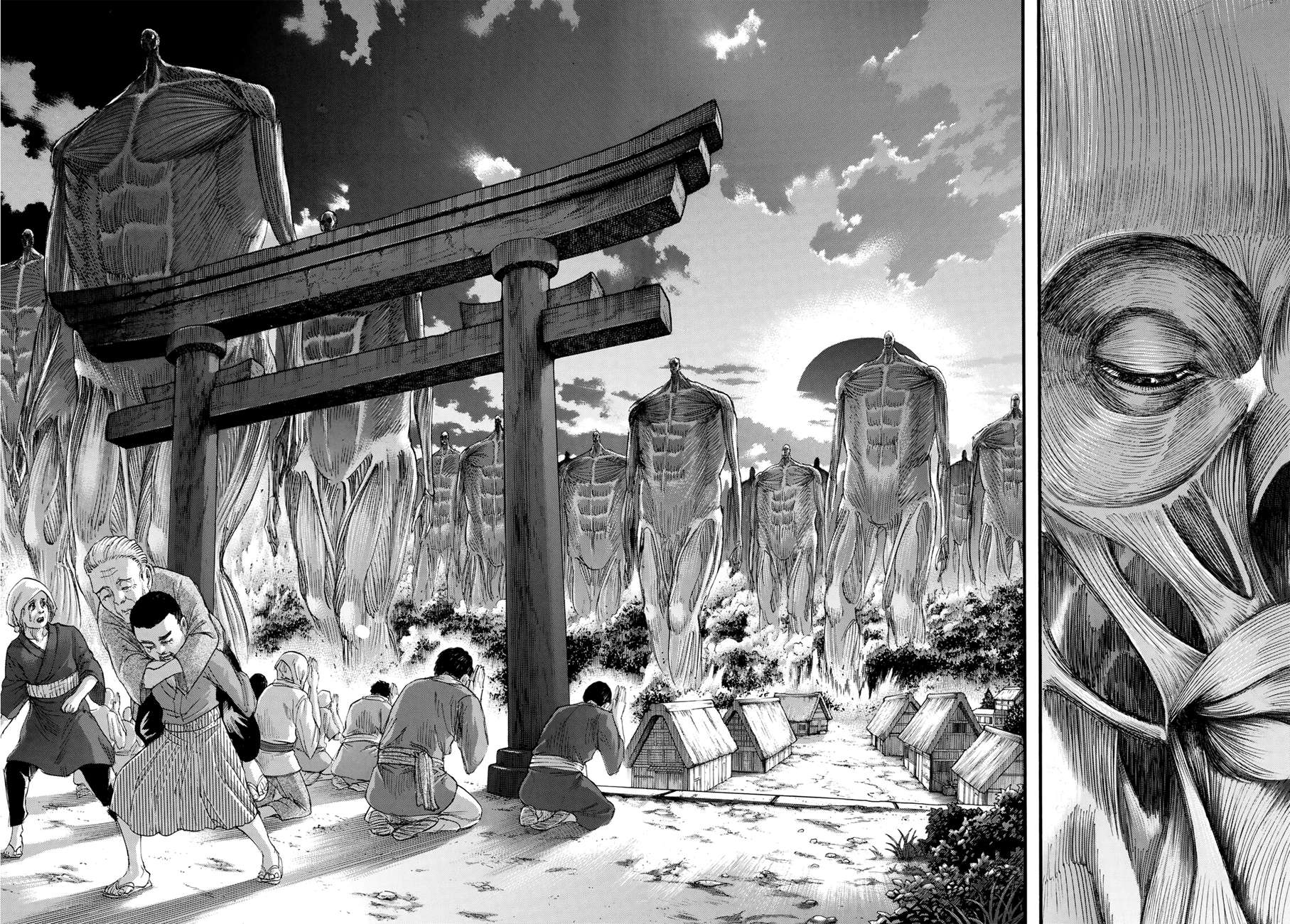 Attack on Titan Chapter 134: At The Depths Of Despair