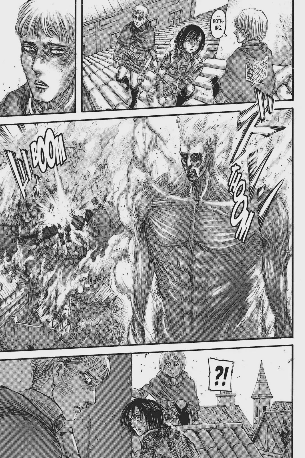 Attack on Titan Vol.20 Chapter 80: The Nameless Soldiers