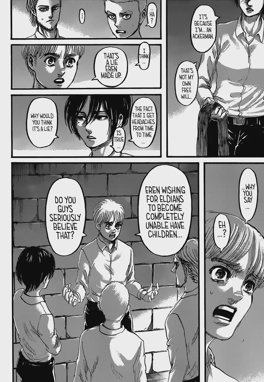 Attack on Titan Vol.29 Chapter 118: Foul Play